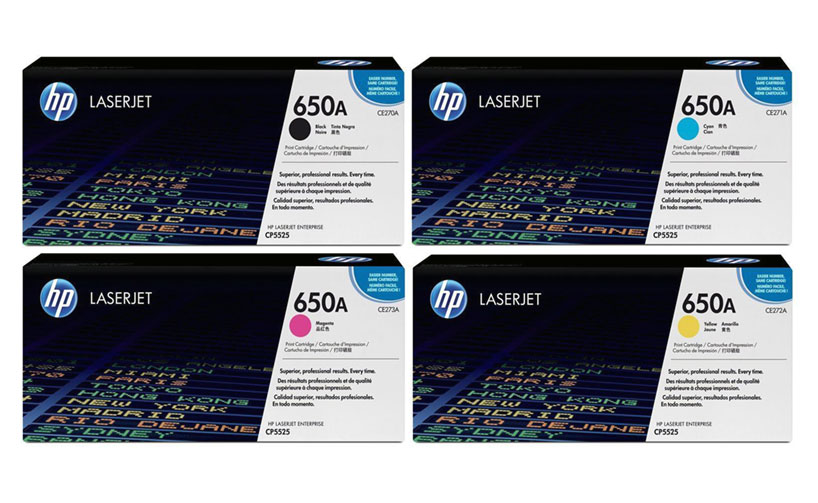 HP 650A 271A Blue LaserJet Toner Cartridge