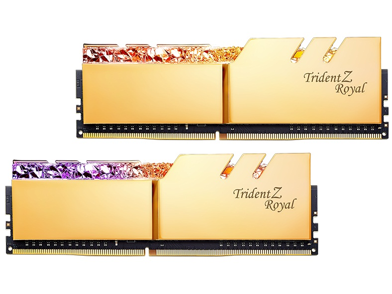 G.SKILL Trident Z Royal RG DDR4 32GB 3200MHz CL16 Dual Channel Desktop RAM