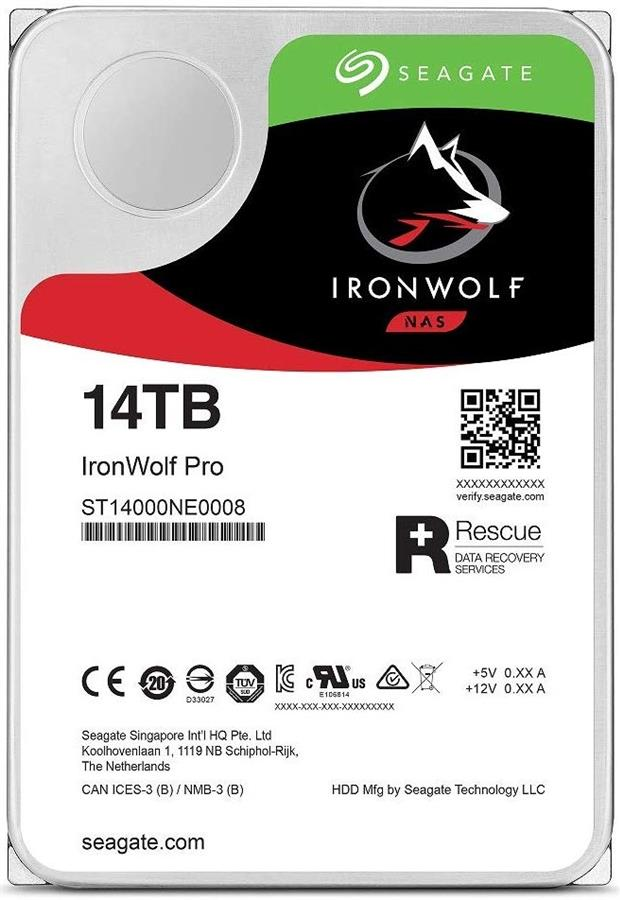 Seagate ST14000NE0008 IronWolf Pro 14TB NAS Internal Hard Drive
