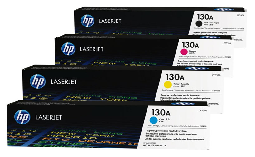 HP CF350A 130A Black LaserJet Toner Cartridge