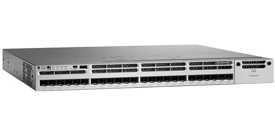 CISCO WS-C3850-24XS-S 24Port Managed Switch