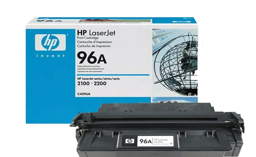 HP 96A Black LaserJet Toner Cartridge