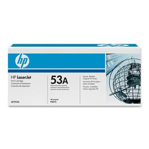 HP 53A Black LaserJet Toner Cartridge