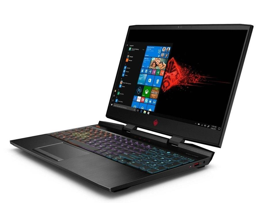 HP OMEN 15-DC1088 G2-C Core i7 32GB 1TB 256GB SSD 6GB Full HD Laptop