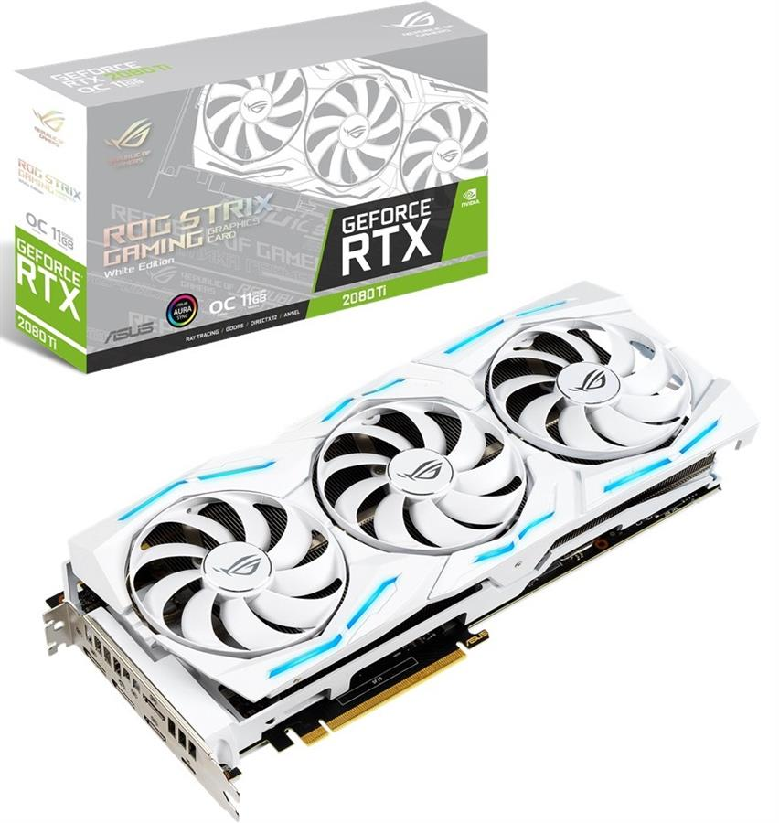 ASUS ROG-STRIX-RTX2080TI-O11G-WHITE-GAMING Graphics Card