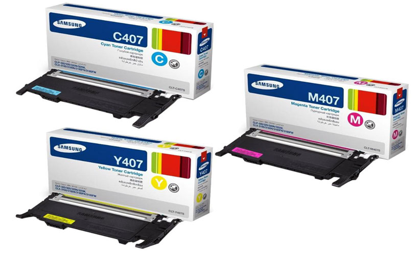 SAMSUNG 407 Yellow Toner Cartridge