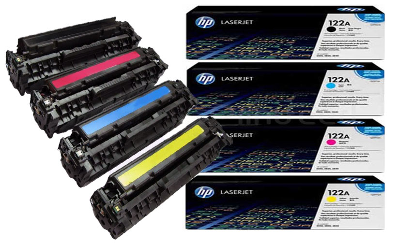 HP Q3962A 122A Yellow LaserJet Toner Cartridge