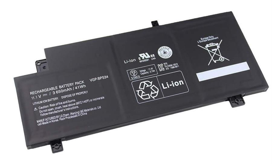SONY Vaio VGP-BPS34 6Cell Battery