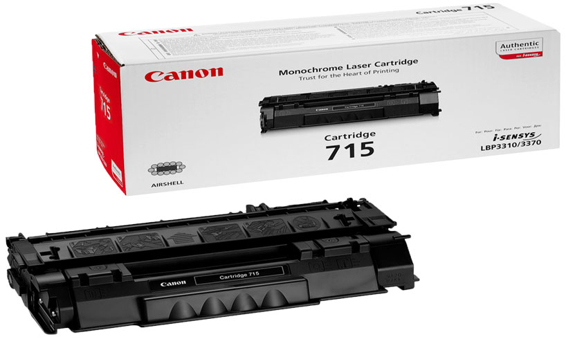 Canon ‎715 Black Toner Cartridge