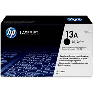 HP 13A Black LaserJet Toner Cartridge