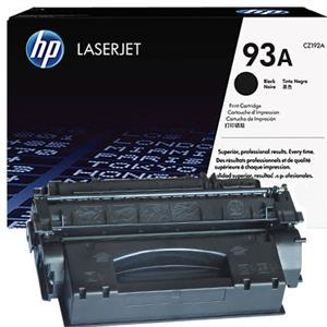 HP 93A Black LaserJet Toner Cartridge