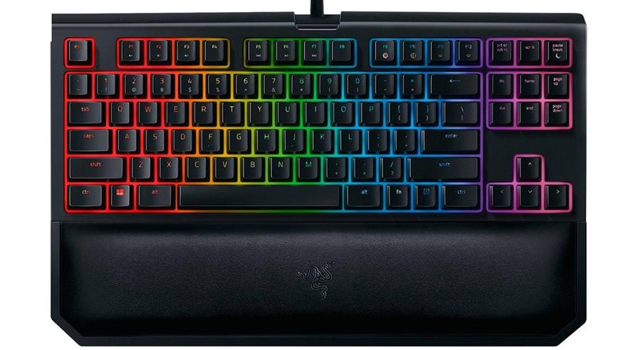 Razer BlackWidow Tournament Edition Chroma V2 with Orange Switch Mechanical Keyboard