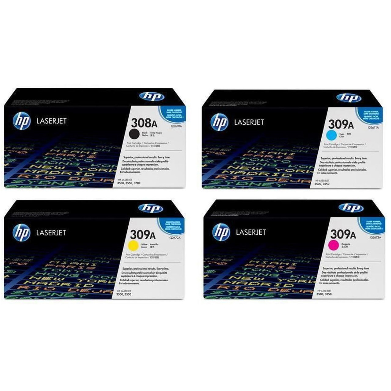 HP Q2673 A 309A Red LaserJet Toner Cartridge