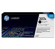 HP CE740A 307A Black LaserJet Toner Cartridge