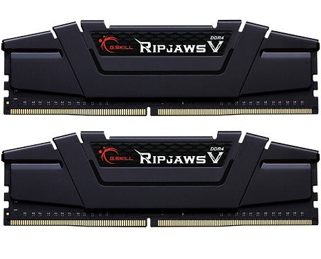 G.SKILL RipjawsV DDR4 64GB 3200MHz CL16 Dual Channel Desktop Ram