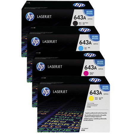 HP Q5950A 643A 4700 Black LaserJet Toner Cartridge