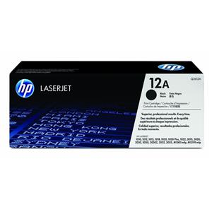 HP Toner-12A-Black
