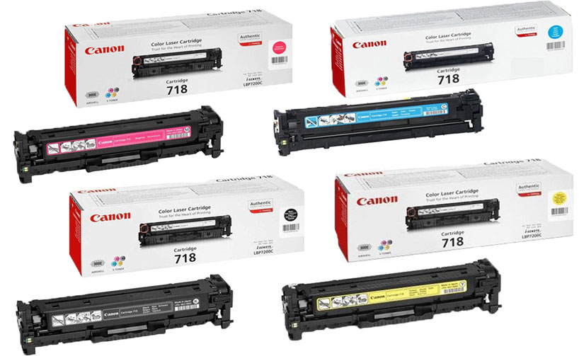 Canon 718 Red Toner Cartridge