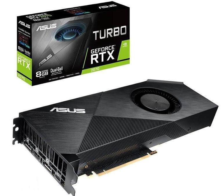 ASUS TURBO-RTX2070-8G Graphics Card