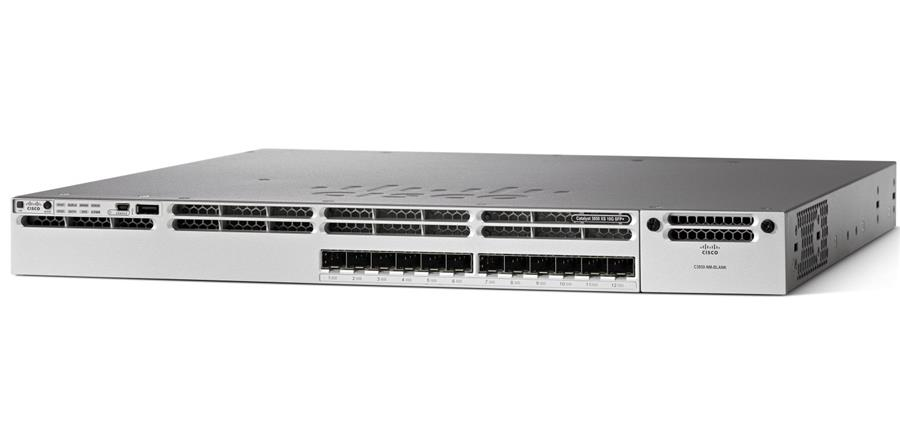 CISCO WS-C3850-12XS-S 12Port Managed Switch