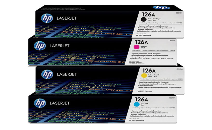 HP CE311A 126A Blue LaserJet Toner Cartridge