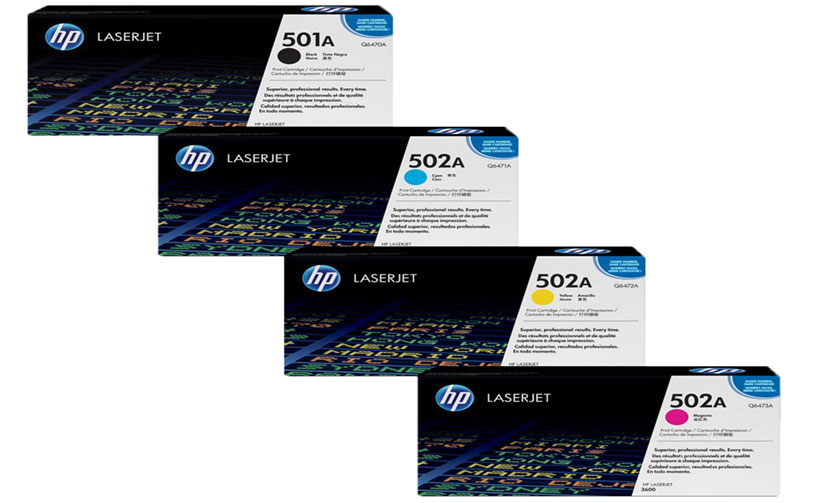 HP C6472A 502A Yellow LaserJet Toner Cartridge