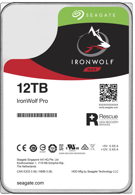 Seagate ST12000NE0008 IronWolf Pro 12TB NAS Internal Hard Drive
