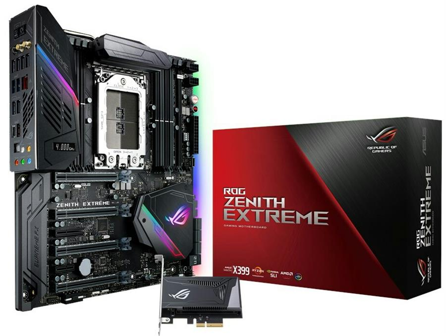 ASUS ROG X399 ZENITH EXTREME TR4 Motherboard