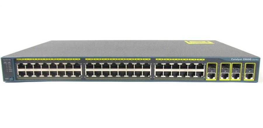 CISCO WS-C2960G-48TC-L 48Port Switch