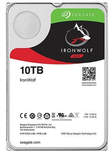 Seagate ST10000VN0008 IronWolf 10TB 256MB Cache Internal Hard Drive